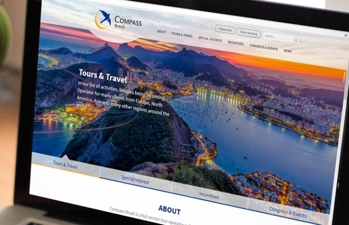 Site responsivo para Compass Brazil