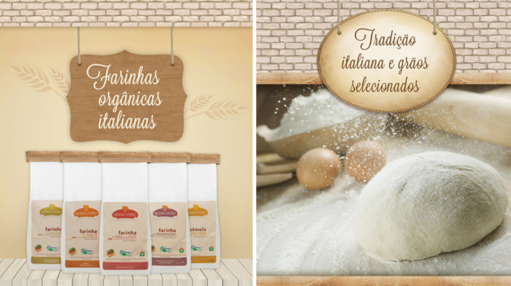 Design gráfico - criação de peças promocionais para divulgação de produtos