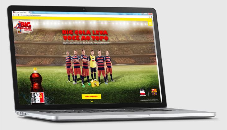 Webdesign para site responsivo