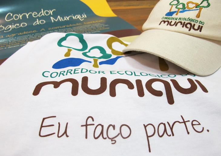 Criação de peças de comunicação para campanha de conscientização - Camisetas e bonés