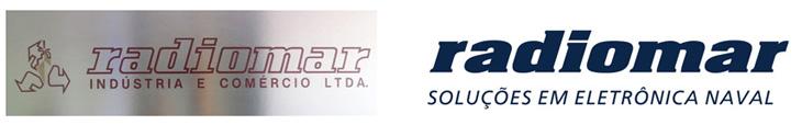 Logotipo original da Radiomar e a sua versão antes da mudança