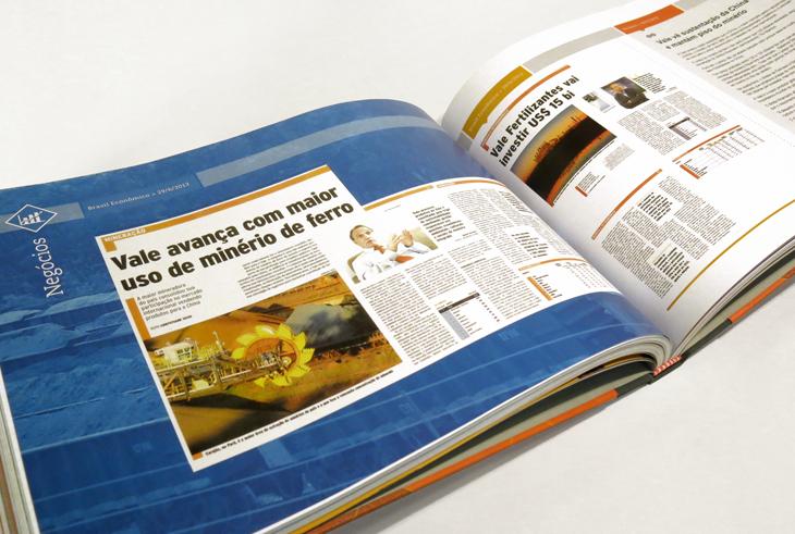 Design editorial - Diagramação de relatórios