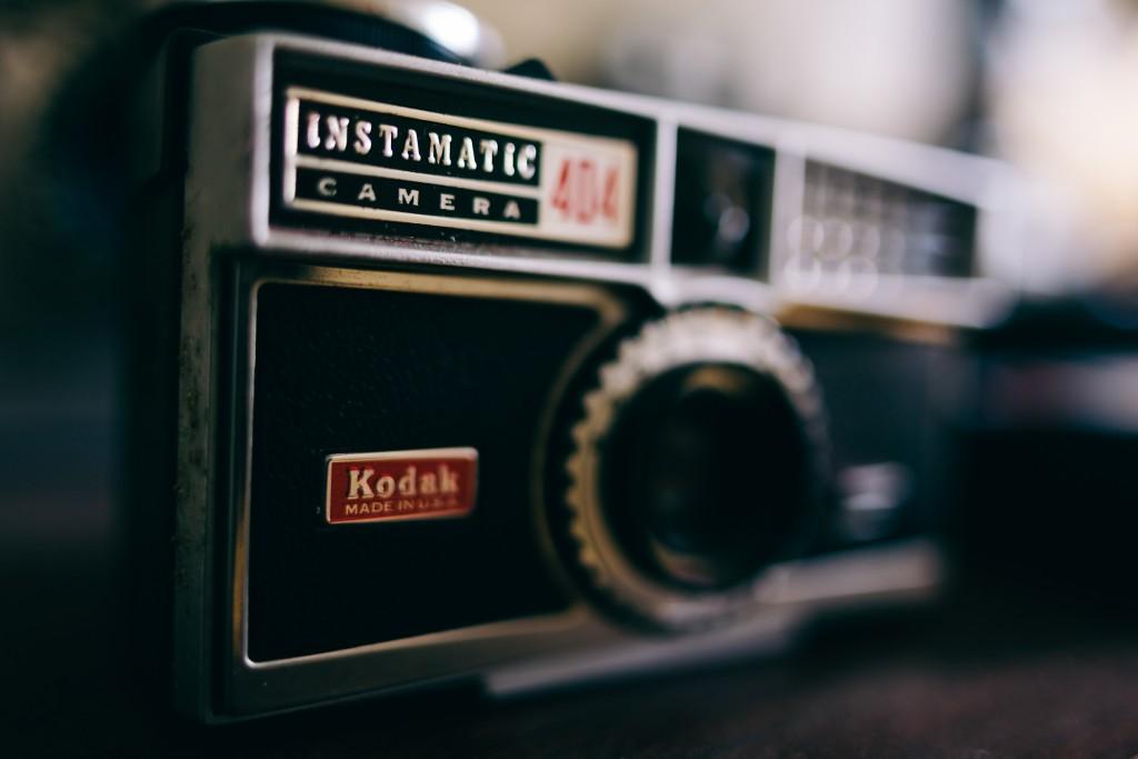 Kodak Instamatic, um dos maiores sucessos da companhia na década de 1960